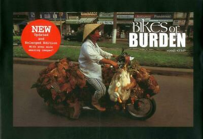 Bikes of Burden by Hans Kemp (English) Hardcover Book Free Shipping!