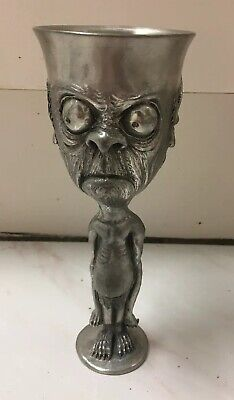 Royal Selangor Pewter Goblet - GOLLUM SMEAGOL Lord of the Rings  G. Anthony 2000