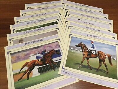 """""""MELBOURNE CUP WINNERS""""   PRINTS  x12  -  EDITION 4  ( NEW )"""