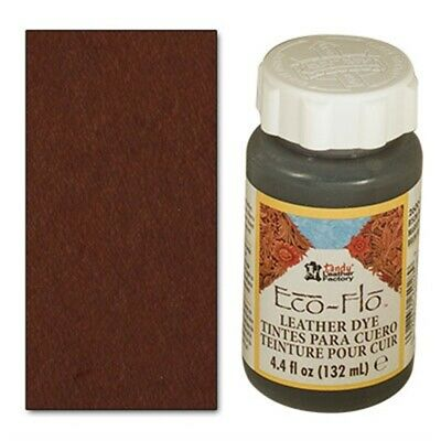 4oz Java Brown Eco Leather Dye - 44 Fl Oz 132ml Ecoflo Multiple Colours Free