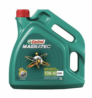 2 x CASTROL MAGNATEC 10W-40 A3/B3 MOTOR ENGINE OIL 4L PART SYNTH. DIESEL PETROL