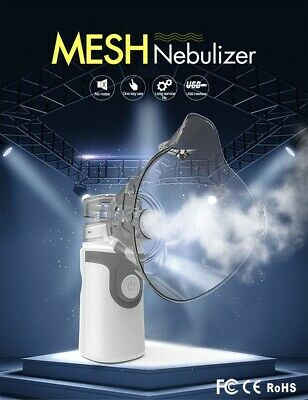 Portable USB Nebulizer Machine Handheld Respirator Humidifier Adult kids