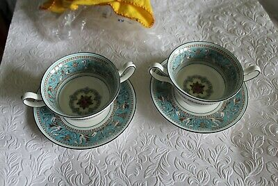 Wedgwood Florentine Turquoise Soup Coup 10 Available