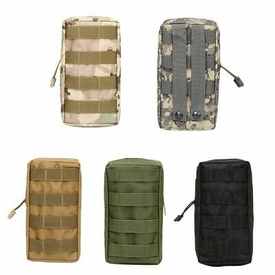 Men Military Tactical Molle Belt Waist Bag Hiking Sports Fanny Pack Pouch Case