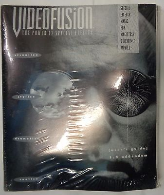 VIDEOFUSION: THE POWER OF SPECIAL EFFECTS - 1993  Macintosh Quicktime Movies NEW