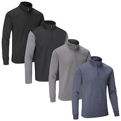 Stuburt Mens Endurance Sport Half Zip Neck Sweater Top - Pullover Jumper Golf