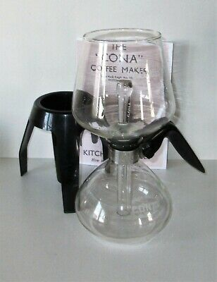 CONA COFFEE MAKER JUNIOR KITCHEN MODEL 1 PT CAP.80`s*