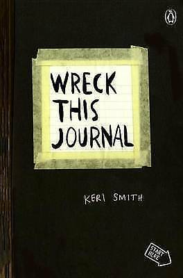 Wreck This Journal (Black): To Create Is to Destroy by Smith, Keri, NEW Book, FR