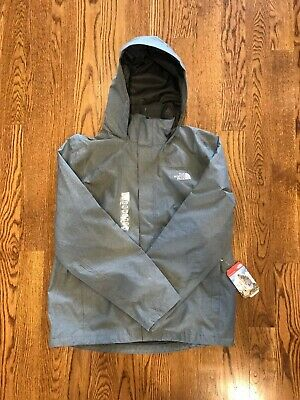 c0301f4fc The North Face Men's Sangro Rain Trail Jacket Color: Grey Gray Size: Large