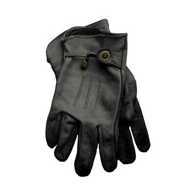 Corazzo Cordero Scooter or Motorcycle Gloves - Black