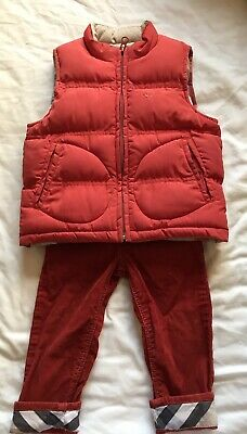 Burberry Toddler Gilet And Trousers (18 Mos)