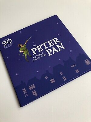 The Peter Pan 50p collection ,Peter Pan ,Hook ,Wendy & Nana Tinker IN STOCK NOW