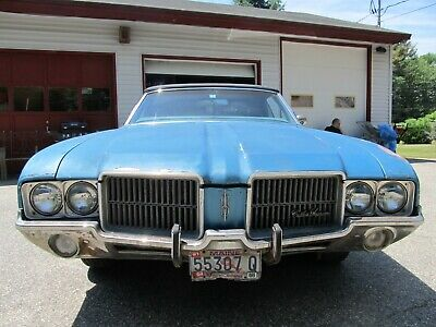 1971 OLDSMOBILE CUTLASS Supreme License plate tag 71 Olds