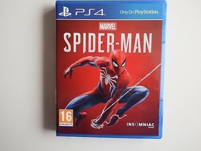 Marvel: Spider-Man on PS4 in MINT Condition