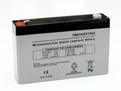 Replacement Battery For Sonnenschein 6V5Ah 6V