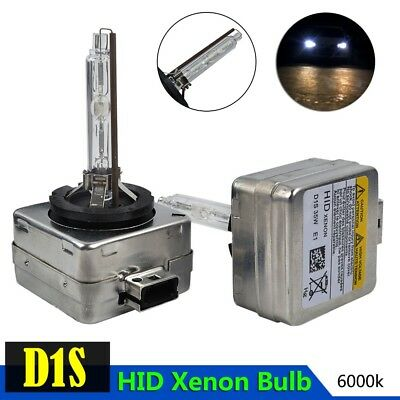2 x D1S 6000K HID XENON PAIR Set of Two REPLACEMENT BULB Lamp Light Universal