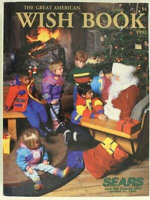 Vintage Advertising SEARS The GREAT AMERICAN WISH BOOK 1992 Mail Order Catalog