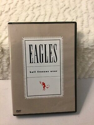 Eagles, The - Hell Freezes Over (DVD, 2005) Rare Hard To Find Out Of Print