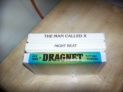 Old Time Radio Shows-Dragnet,The Man Called X & Night Beat