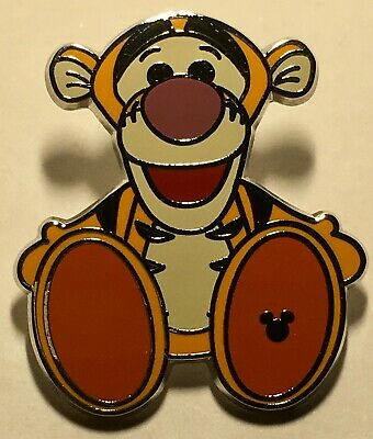 TIGGER Big Foot Walt Disney World 2018 Hidden Mickey Pin #127976