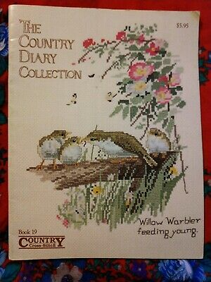 The Country Diary Collection - Country Cross Stitch book #19 Country birds