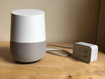 GOOGLE HOME VOICE-ACTIVATED SMART SPEAKER 1st Edition