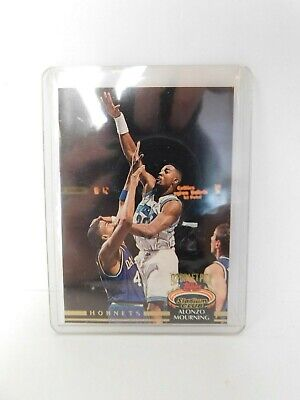 Alonzo Mourning Hornets 1992 1993 Topps Ultra Rookie