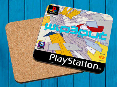 Wipe Out 3 Playstation Psx Posavasos Madera Wooden Coasters