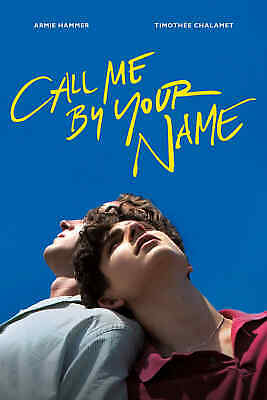 Call Me by Your Name (Blu-ray Disc, 2018)