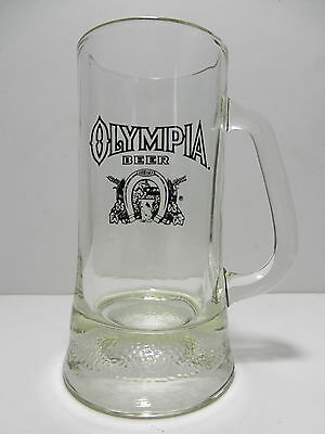 Vintage 1970's Olympia 16 Ounce Beer Mug Washington CLOSED Brewery
