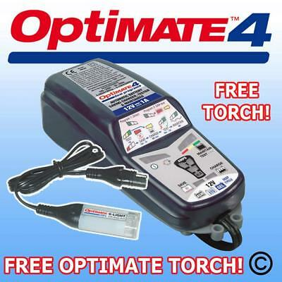 Optimate 4 Double Programme 12v Moto Chargeur Optimiseur SAE Connecteur