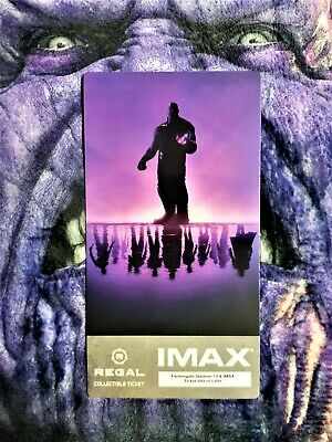 Avengers Endgame Week 1 IMAX Regal Collectible Ticket ! 593 Out Of 1,000 !