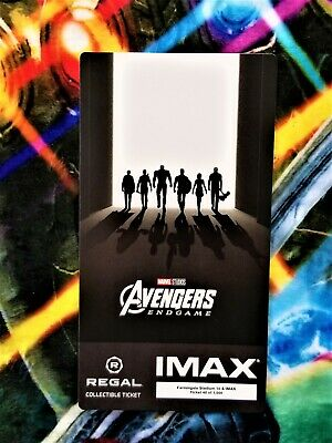 Avengers Endgame Week 2 IMAX Regal Collectible Ticket #40 Out Of 1,000 !