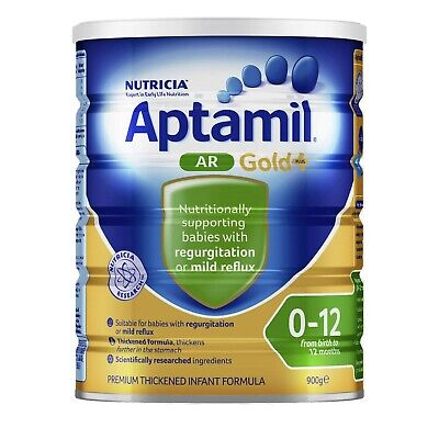 Aptamil AR Gold+ Infant Formula from birth to 12 months 900gm