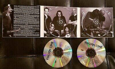 Kingdom Come Greatest Hits Collection 2CD RARE 80's Metal Lenny Wolf Zeppelin