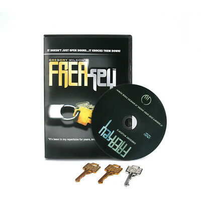 FreaKey By Gregory Wilson (Gimmicks+DVD) Magic Tricks Key Close Up Stage Magic