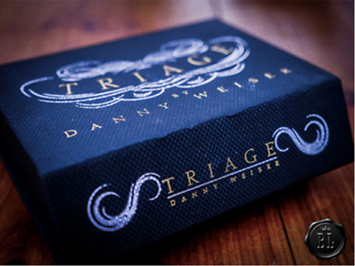 Triage by Danny Weiser Magic Trick Close Up Street Cards Restored Parlor TNR T11