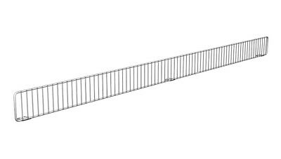 "48"" Freestanding Wire Fencing Divider Lozier Store Fixture Chrome Lozier Madix"