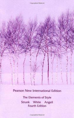 Elements Of Style,The: Pearson Neuf International Edition par Blanc,E. B. ,Strun