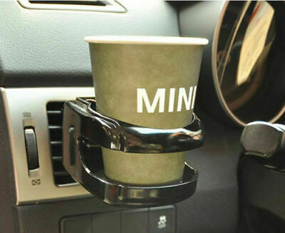 Car Air Vent Bottle Can Coffee Drinking Cup Holder Bracket Mount Tray - Black XF