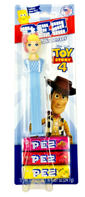 TOY STORY 4 PEZ Disney Pixar BO PEEP - Candy & Dispenser - New Factory Sealed