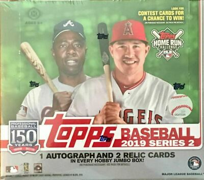 2019 Topps Series 2 Baseball (JUMBO BOX) + 2 Silver Packs