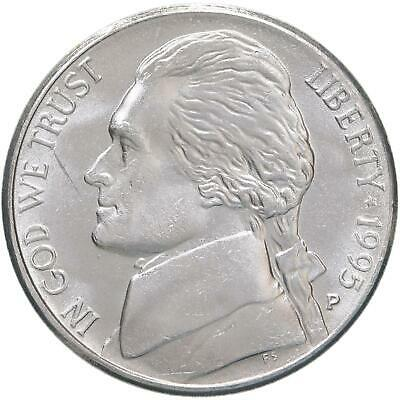Finish Your Book With This BU Coin #9054 1995 P Jefferson Nickel