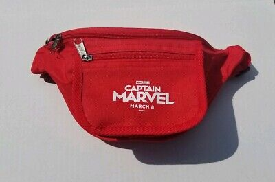 Captain Marvel (2019) Studio Theater Promo Fanny Pack