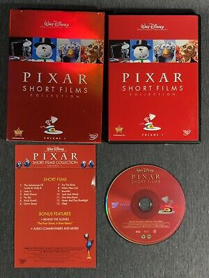 Disney Pixar 13 Short Films Movie Collection VOLUME 1 DVD OOP 2007 W/Slip Cover