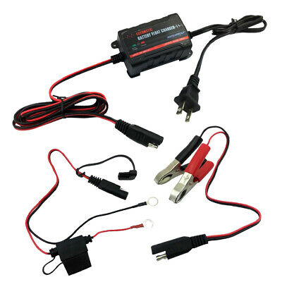 Battery Charger Maintainer 6V 12V Amp Volt Trickle RV/Car/Truck/Motorcycle