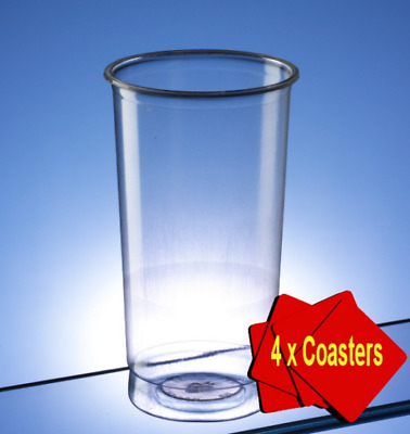 Occasion Accessories Recyclable Plastic Highball Disposable Pimms Glasses Pack