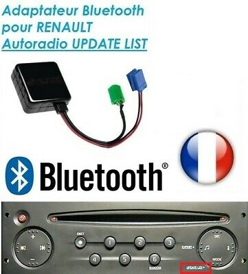 Cable AUX MP3 Bluetooth Renault Clio 3 Megane 2 Laguna Scenic 2 Traffic Modous