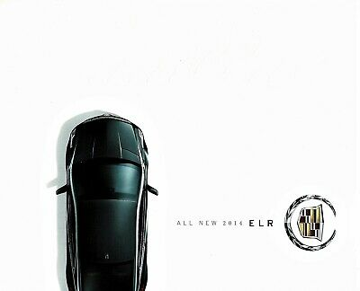 2014 Cadillac ELR Hybrid 48-Page Deluxe Dealer Sales Brochure NEW!