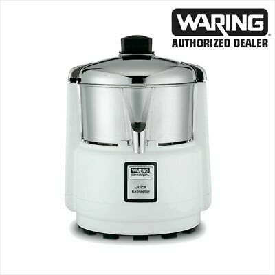 Waring 6001C Commercial Juicer Extractor with Stainless Bowl & Cover